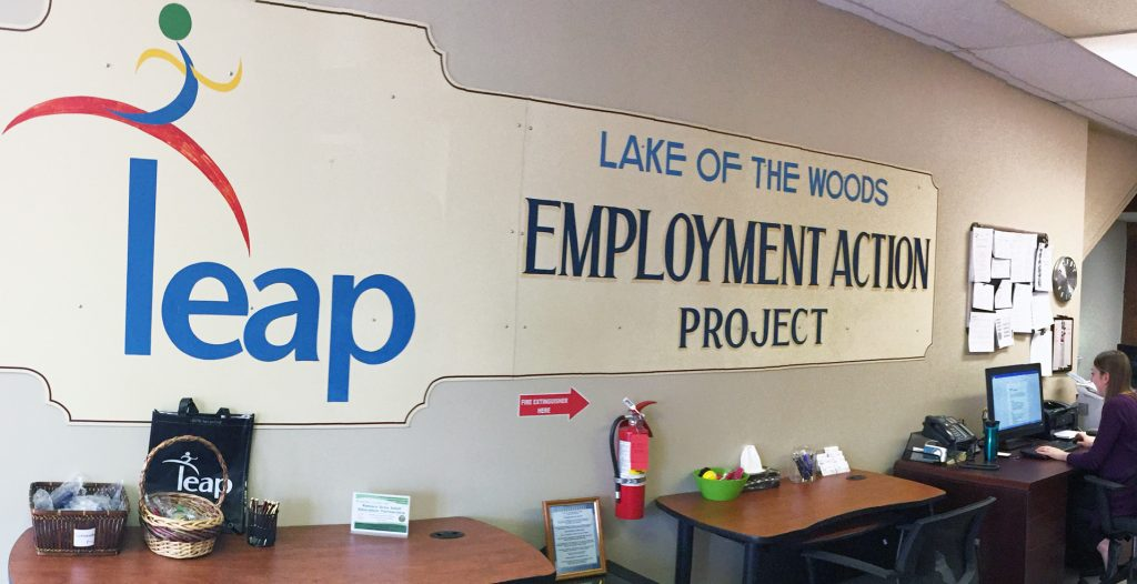 Lake of the Woods Employment Action Project office