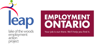 LEAP logo and Employment Ontario Logo